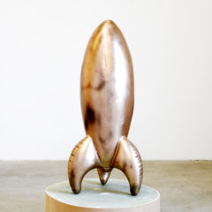 Don and Sherie, you are my rocket3,2018, bronze, 110 x 65 x 65 cm