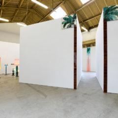 installation view, Ciao Mamma, 2018, Gallery Jochen Hempel, Leipzig, DE