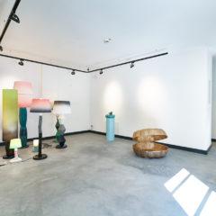 installation view, Venus im Schaumbad, 2019, Gallery Kunst und Denker Contemporary, Duesseldorf, Foto: Ben Hermanni